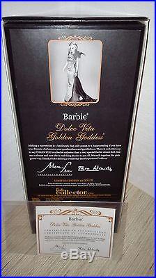 Barbie Dolce Vita Golden Goddess silkstone Madrid Convention doll 2014 NRFB