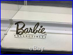 Barbie Doll Collectables Store Display Case Lighted Silkstone Locking Vintage