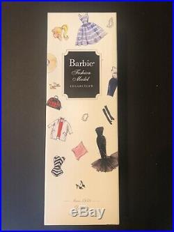 Barbie Doll Silkstone Fashion Model 1959 Debut 50TH ANNIVERSARY Gold Label NRFB