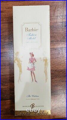 Barbie Doll The Waitress Fashion Model Silkstone Gold Label