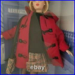 Barbie Doll x Burberry Blue Label Collaboration Limited Edition New DHL shipping