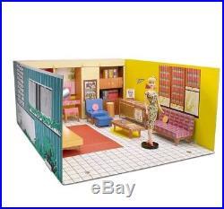 Barbie Dream House 1962 Vintage Reproduction Barbie doll included Mattel mint