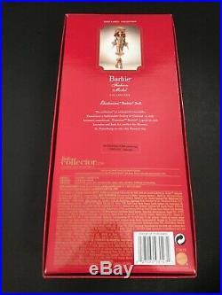 Barbie Ekaterina Silkstone Doll Bfmc 2010 Gold Label Mattel Nrfb