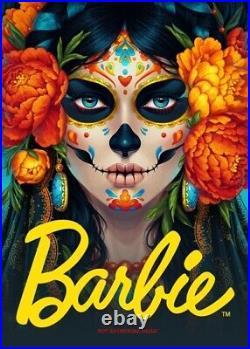 Barbie El Dia De Los Muertos Mexican Doll Day Of The Dead 2020/2019 Ships Asap