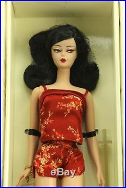 Barbie Fashion Model Chinoiserie Red Sunset Asian Silkstone Doll Gold Label 2004