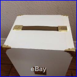 Barbie Fashion Model Collection Wardrobe Trunk Carrying Case Keys Certificate