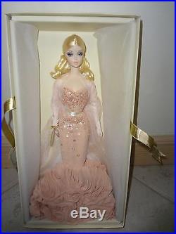 Barbie Fashion Model Mermaid Gown Silkstone Doll Gold Label Nrfb