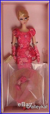 Barbie Fashion Model, Silkstone Barbie Doll, Fashionably Floral, NRFB