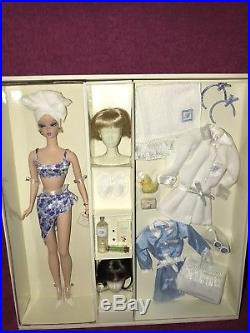 Barbie Fashion Model Silkstone Spa Getaway Doll Gift Set By Mattel #b1319 Nrfb