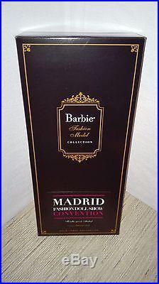 Barbie Fiorella goes to Madrid silkstone MFDS Madrid Convention doll 2014 NRFB