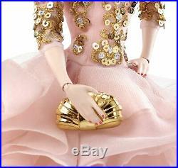 Barbie Gold Label Silkstone Blush & Gold Cocktail Dress Never Been On Shelf