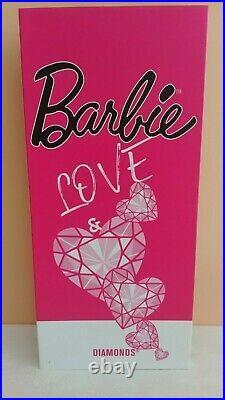 Barbie LOVE AND DIAMONDS silkstone MFDS Madrid Convention 2019 NRFB