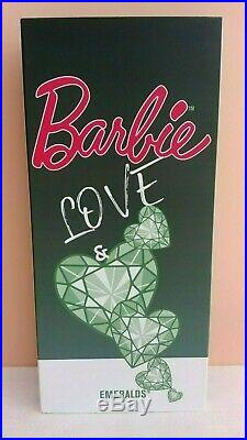 Barbie LOVE AND EMERALDS silkstone Madrid Convention 2019 NRFB! Thank you doll
