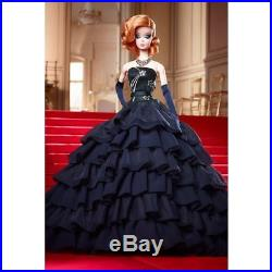 Barbie Midnight Glamour Doll Nrfb Silkstone Fashion Model Gold Label In Hand
