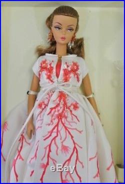 Barbie Palm Beach Coral Silkstone Doll Gold Label Coleccion R4535 Model Fashion