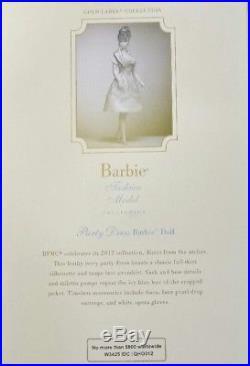 Barbie Party Dress Silkstone Doll Gold Label Coleccion W3425 Mattel Fashion