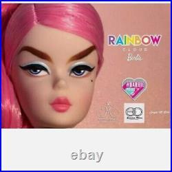 Barbie Platinum Silkstone Rainbow Cloud Spanish Doll Convention NRFB 2020