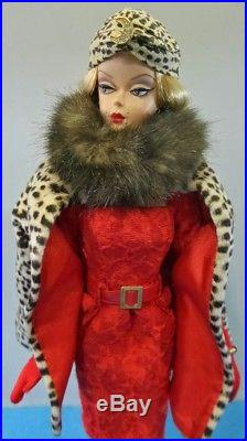 Barbie Red Hot Reviews Silkstone Doll Gold Label Coleccion K7918 Mattel Fashion
