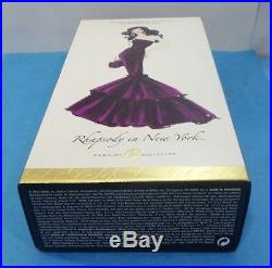 Barbie Rhapsody In New York Silkstone Doll Gold Label Collector J0984 Fan Club