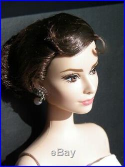 Barbie SABRINA Porcelaine Silkstone Audrey Hepburn 2012 Mattel X8277 doll nrfb