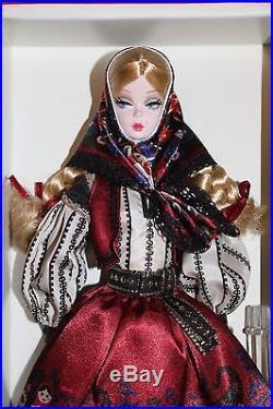 Barbie SILKSTONE Mila Silkstone Barbie 2011 Gold Label NRFB