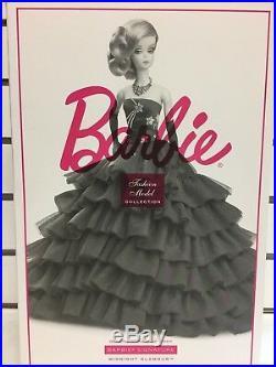 Barbie Signature Silkstone Midnight Glamour Gold Label Fashion Model Collection
