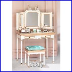 Barbie SilkStone Fashion Model Vanity And Bench, NRFB, B3436, Sealed