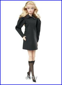 Barbie Silkstone BEST IN BLACK Doll Brand New with Shipper! Gold Label
