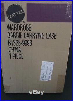 Barbie Silkstone Bfmc Wardrobe Carrying Case Sealed In Unopened Shipper Nrfb
