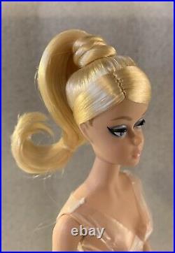 Barbie Silkstone Classic Black Dress Articulated Doll Nude