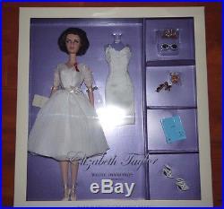 Barbie Silkstone Doll Elizabeth Taylor White Diamonds LE7000 NEW NRFB