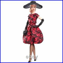 Barbie Silkstone Elegant Rose Cocktail Dress Nrfb Fjh77 Tres Belle Barbie