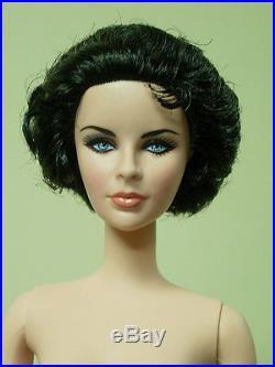 Barbie Silkstone Elizabeth Taylor White Diamonds Nude Doll New Last One