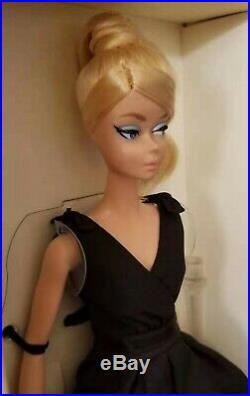 Barbie Silkstone Fashion Model Collection Gold Label 2016 Classic Black Dress