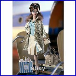 Barbie Silkstone Fashion Model Continental Holiday Giftset by Mattel 55497 NRFB