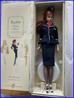 Barbie Silkstone Fashion Model The Stewardess 2005 Gold Label NRFB