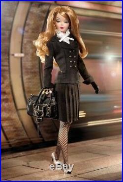 Barbie Silkstone Pretty Pleats Nude In Box W Hang Tag & Coa & Card Ooak