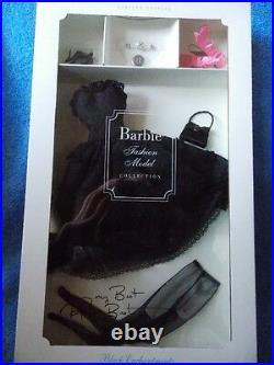 Barbie Silkstone Signed by Robert Best Black Enchantment Fashion