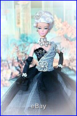 Barbie Silkstone Swarovski Platinum Coco Chanel Fashion Model Collector Bfmc