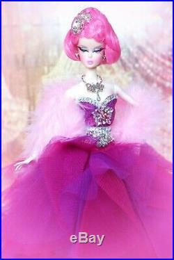 Barbie Silkstone Swarovski Platinum Diamond Jubilee Fashion Model Collector Bfmc