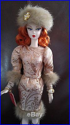Barbie Silkstone'ekaterina Russian Collection' No Box Very Beautiful
