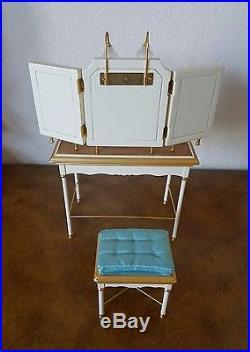 Barbie Silkstone vanity & bench set VHTF