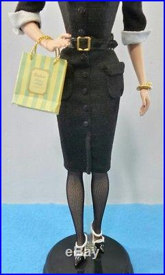 Barbie The Shopgirl Silkstone Doll Gold Label Coleccion M4971 Fashion Model