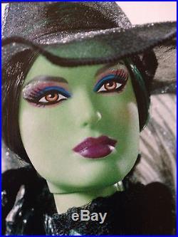 Barbie Wizard of Oz FANTASY GLAMOUR WICKED WITCH Gold Label 4000 Worldwide
