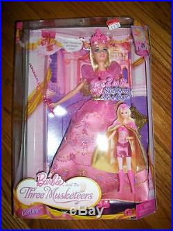 Barbie and the Three Musketeers Corinne Doll 2009 RARE HTF
