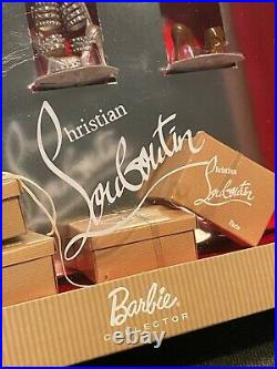 Barbie by Christian Louboutin Paris Barbie Shoe High Heel Collection New NRFB