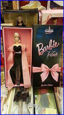 Barbie silkstone TRIBUTE ROMA FASHION DOLL CONVENTION 2019 NRFB
