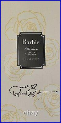 Barbie silkstone classic black dress RFDC ROMA convention 2016 NRFB! Signed