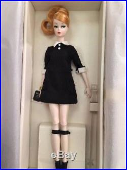 Barbie silkstone classic black dress Roma Doll convention 2016 NRFB