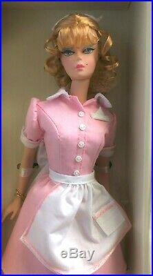 Beautiful The Waitress Silkstone Barbie Nrfb
